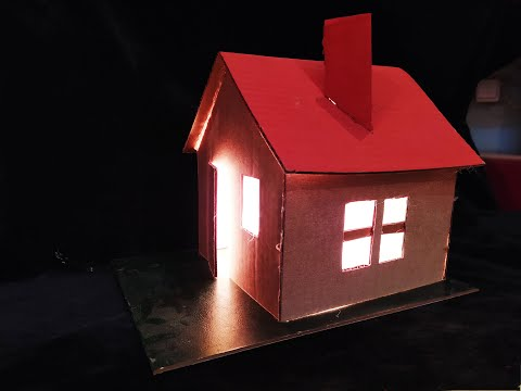 Make a amazing light lamp! Mini house