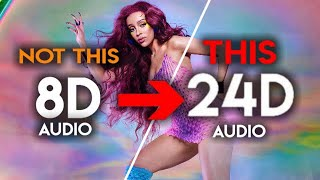 Doja Cat - Payday [24D Audio | Not 16D/8D]🎧 ft. Young Thug