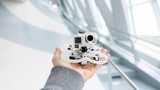 Making Of - Mercedes-Benz Museum with fpv-drones