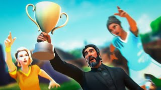Streamer Destroys Pro Players In the Solo Gauntlet FINALS! (Fortnite Battle Royale)