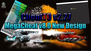 ????MegaCheat v8.0 New Design , ClientTOv2.27 топ читы танки онлайн 2019????