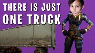 ONLY ONE TRUCK LIA (SingSing Fortnite Battle Royale Highlights)