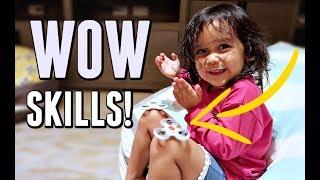 KEIRA'S CRAZY NEW TRICK! - September 27, 2017 -  ItsJudysLife Vlogs