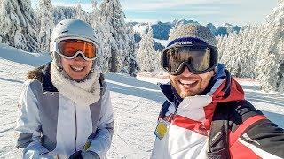 Как проходят выходные в Канаде   Наряжаем ёлку и катаемся на лыжах