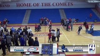 Caston Varsity Boys Basketball vs LaVille