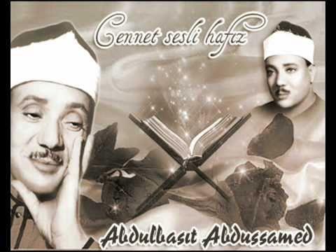 Abdulbasıt Abdussamed Meşhur Hakka Suresi