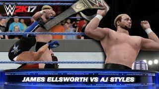 WWE 2K17: SmackDown Live - James Ellsworth WINS the WWE World Title!