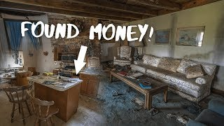 Found MONEY Inside Abandoned House In The Woods!