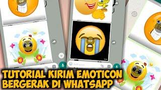 Cara Mengirim Emoji Bergerak di WhatsApp