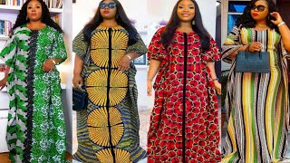 Magnificent And Simple Ankara Print Kaftan Stunning African Dresses Styles Collection