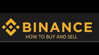 How to buy and sell in Binance Tutorial (Tagalog)