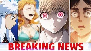 Hunter X Hunter BREAKS EMBARRASSING RECORD, Inuyashas Disturbing Sequel Info & Trailer, AOT Delay!