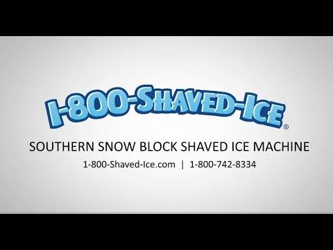 Snomax shaved ice