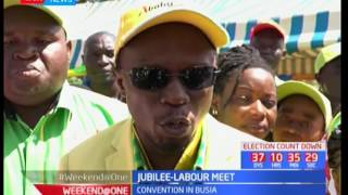 Ababu Namwamba meets Jubilee leaders to plan how to woo Busia residents