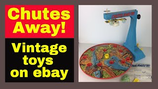 Vintage toys research - How much are they worth on ebay? Chutes Away