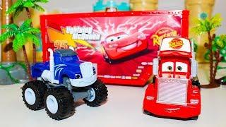 Мультики про машинки Тачки МАК спешит на гонки Вспыш и чудо машинки Мультики для детей про Игрушки