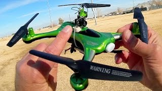 TX03 AIO FPV Camera Toy FPV Racer Conversion Flight Test Review