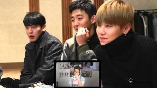 B.A.P - Young, Wild & Free Re_Reaction Awards1