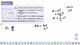 Eğitim Vadisi 11.Sınıf Fizik 22.Föy Elektrik ve Manyetizma 2 Konu Anlatım Videoları