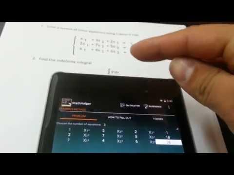 Video of Math Helper - Algebra Calculus