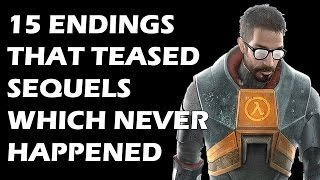 15 Video Game Endings That Teased Sequels Which Never Happened