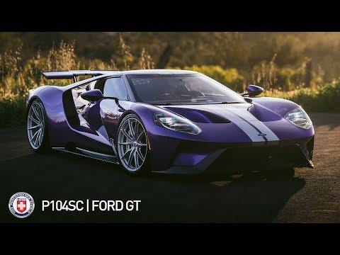 HRE P104SC | Ford GT