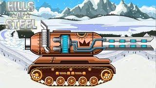 Мультики про танки новые игры 2018 года супер Танк МАМОНТ в игре Hills Of Steel
