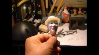 モーガン・フリーマンの粘土人形