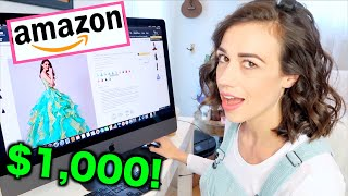 BUYING EVERY WEIRD PROM DRESS ON AMAZON!