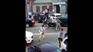 Массовая драка в центре Ростова