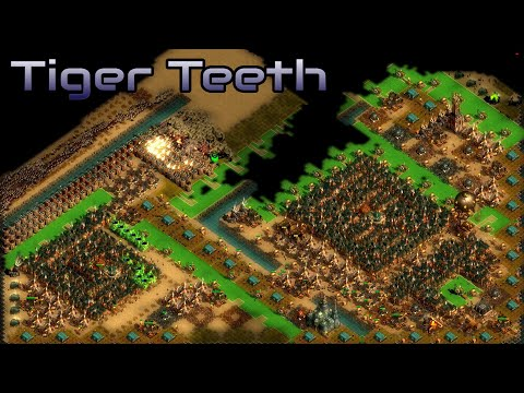 They are Billions - Tiger Teeth - Custom Map - No pause