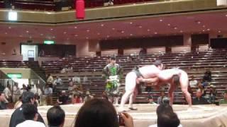 2009/05/22大相撲貴ノ岩対宝富士/Sumo:Takanoiwavs.Takarafuji