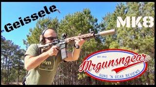 Geissele MK8 AR-15 Free Float MLOK Handguard Review (HD)