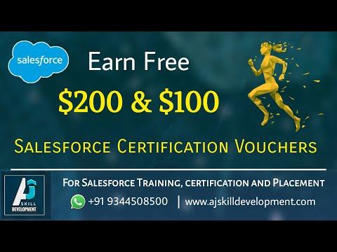 Earn Free $200 & $100 Salesforce Certification Vouchers | AJ Skill ...