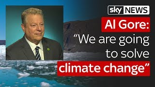 Al Gore: The world can still solve the climate change crisis