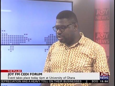 Joy FM Cedi Forum - The Pulse on JoyNews (13-9-18)