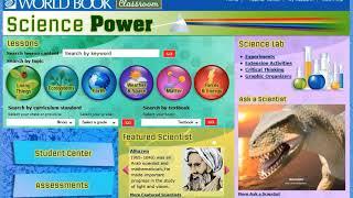 Science Power – Teacher Center – World Book Online