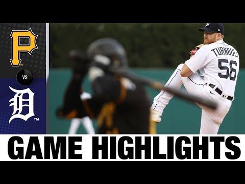 Pirates vs. Tigers G2 Game Highlights (4/21/21) | MLB Highlights