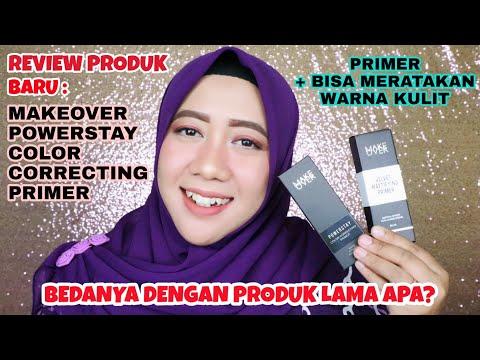 Review Jujur Produk Terbaru Makeover Powerstay Color Correcting Primer di Kulit Berminyak
