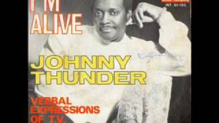 Johnny Thunder - I'm Alive