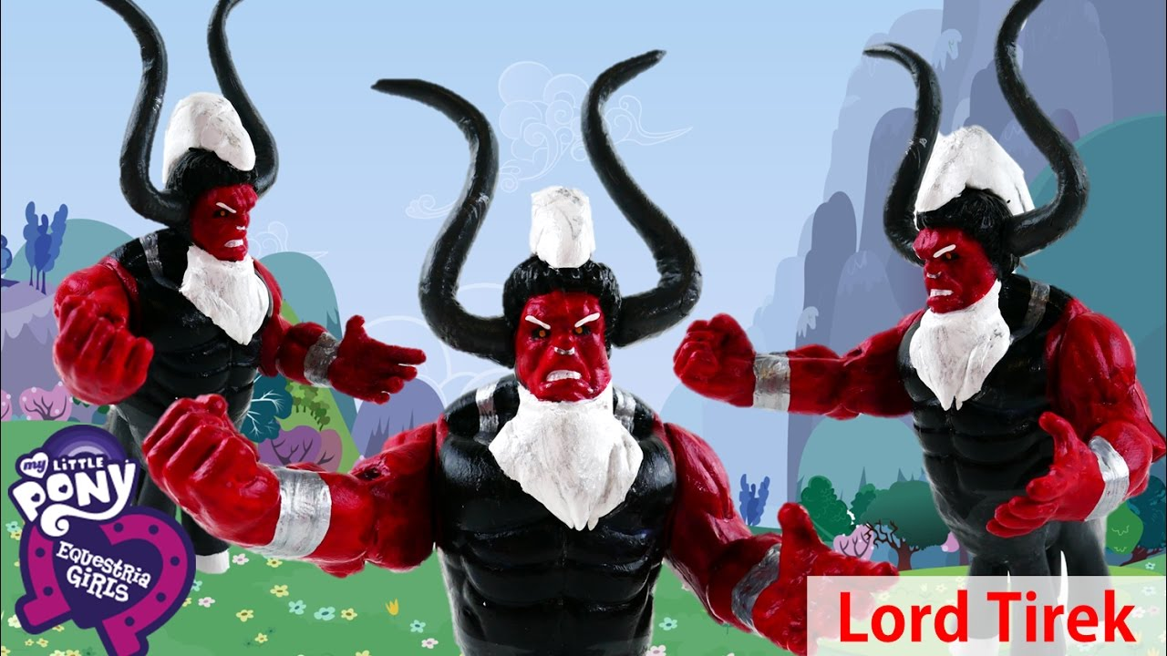 LORD TIREK My Little Pony Frindship is Magic Evil Villains Custom Doll Tutorial | Evies Toy House