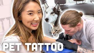 I GOT A TATTOO OF MY PETS :) | YB Chang