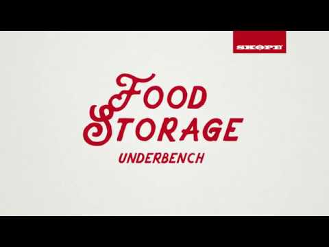 Your Guide to SKOPE's Underbench Food Storage Range