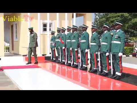 Nigerian Army Parade Video