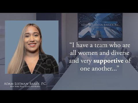 """I have a team who are all women and diverse and very supportive of one another…"" testimonial video thumbnail"