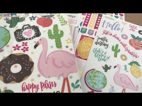 Download Setting Up My Teacher Happy Planner From Michaels