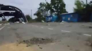 Сражение донецких ополченцев и Национальной гвардии - Видео онлайн