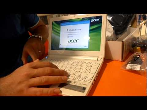 Unbox. Acer Aspire One D270