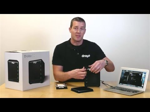 How to Setup the Drobo 5D