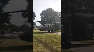 8/7/21 Nancy Drew DC Update- Military Emergency training today in DC- Blackhawk up close!!